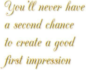 first impressions may be deceiving External impressions can be deceiving what appears harsh or unfavourable is usually just that - an appearance and it is, unfortunately, a false appearance that we have created for ourselves through faulty reasoning.