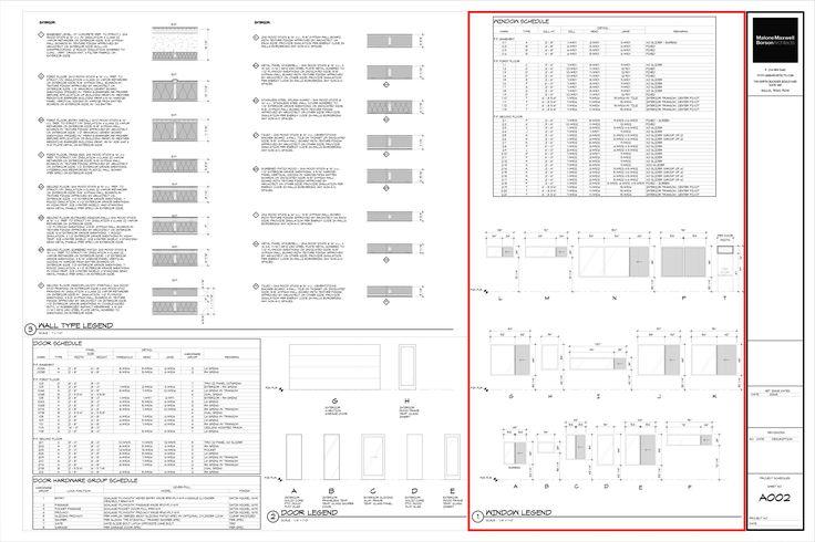 Door And Window Schedule Example  Dream Home Project