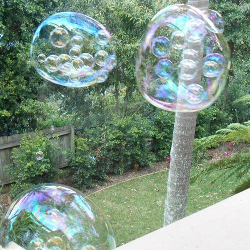Blow amazing Bubbles Inside Bubbles with Green Ant Toys Bubble Gun  www.greenanttoys.com.au