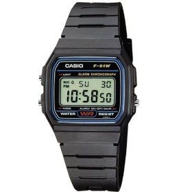 Casio watch - nothing fancy, but it works perfectly. Great product.