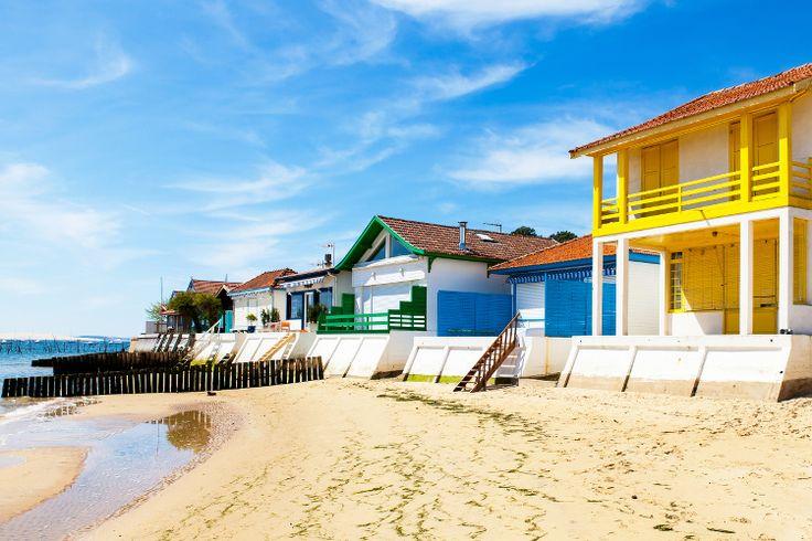 Les maisons colorées de L'Herbe : Les plus belles couleurs du bassin d'Arcachon…