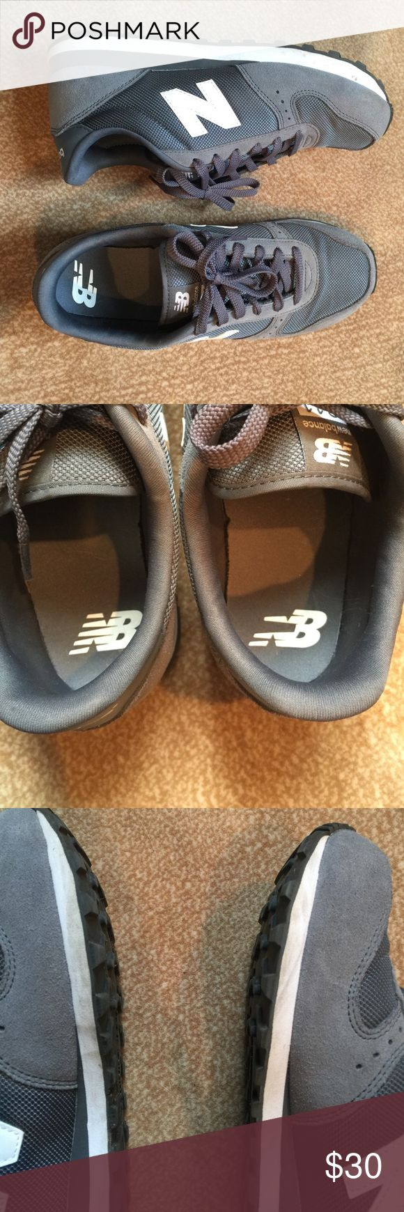 New balance shoes Men's 8 1/2 by fits me I usually wear a 9 1/2 or 10 in woman's New Balance Shoes Athletic Shoes