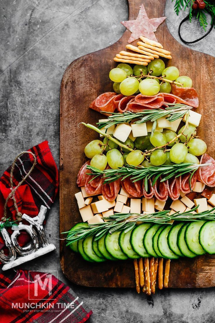 Christmas Appetizers 2020 Birthdays #appetizer #christmas #appetizers appetizer tree