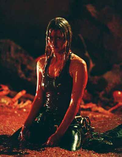 The Descent. Scary as hell and claustrophobic