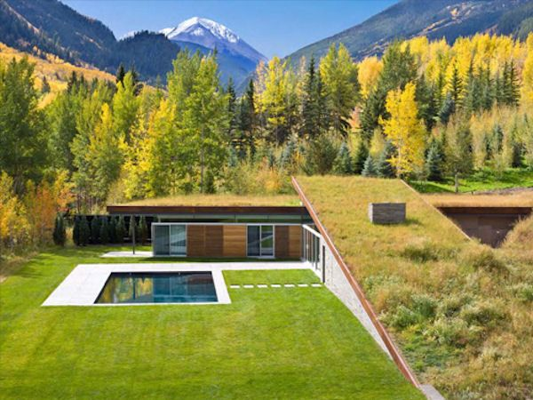 "GLUCK+ has designed the ""House in the Mountains"" Rocky Mountains of Colorado"