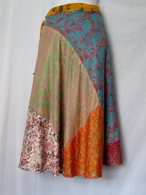 Another gorgeous patchwork skirt.
