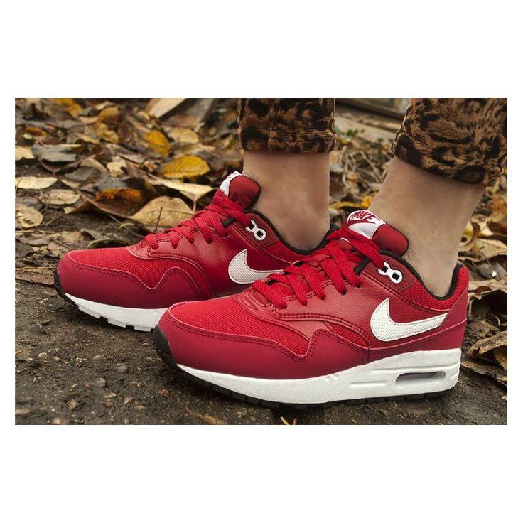 Sneakersy nike air max 1 GS 807602-601 - Buty damskie - Sklep solome.pl