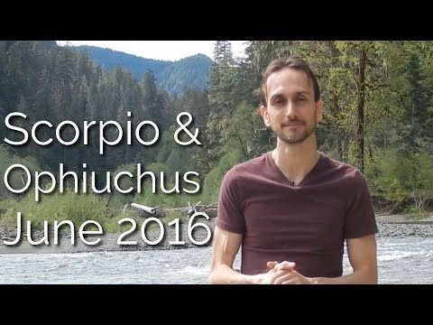 This Scorpio & Ophiuchus June 2016 horoscope has Pluto forming powerful aspects up to Jupiter and the North Node. This can be a significant month to make …