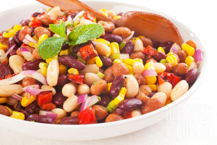 Salade de légumineuses délicieuse #recettesduqc #salade #legumineuse