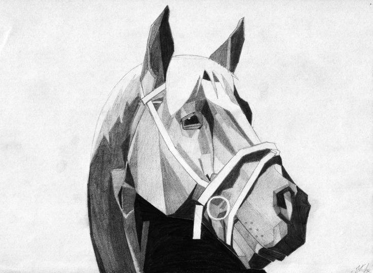 Cubist Horse   Art Exam 2015 - Cubist Horses   Pinterest