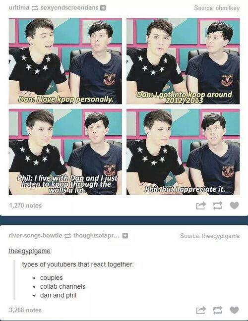 Dan and Phil ♥