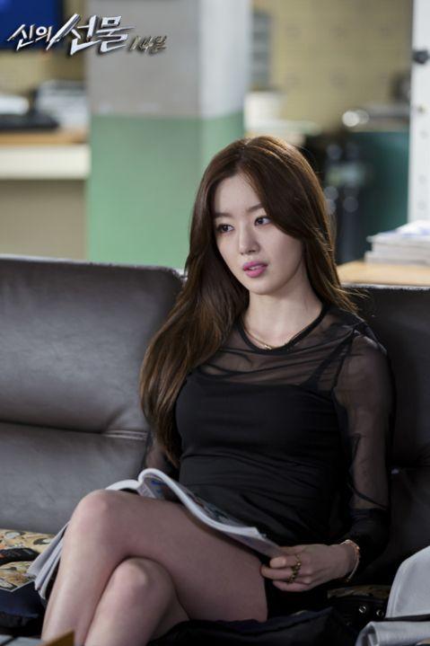 Mesh Longsleeve Top Fashion of Han Sunhwa