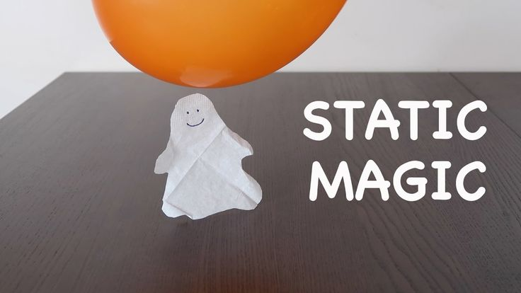 7 awesome STATIC balloon tricks! Home experiment. STATIC MAGIC