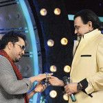 Mika Singh gifts his watch to disco king Mithun Chakraborty