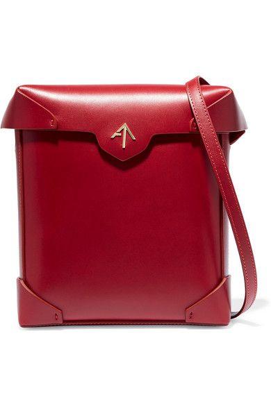 Manu Atelier | Pristine leather shoulder bag | NET-A-PORTER.COM