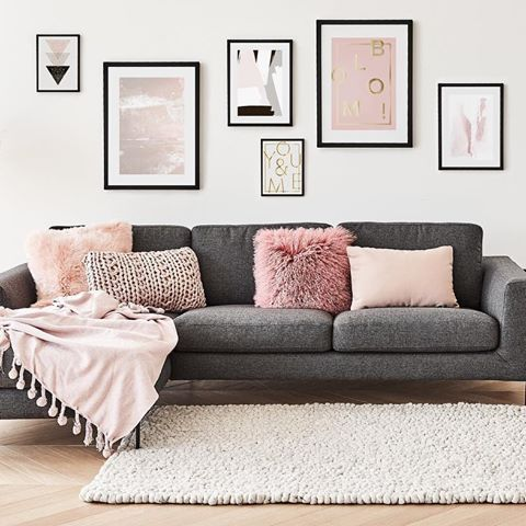 die besten 25 graue sofas ideen auf pinterest graue w nde wohnzimmer neutrale. Black Bedroom Furniture Sets. Home Design Ideas