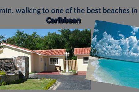 Échale un vistazo a este increíble alojamiento de Airbnb: Villa acogedora, a 200 mts de la playa. - Villas en alquiler en Playa Juan Dolio