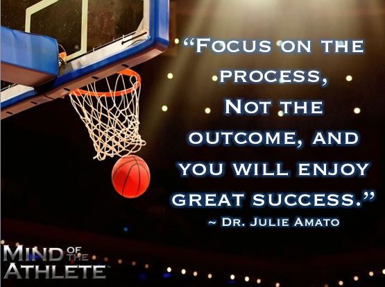 Quot Focus On The Process Not The Outcome And You Will Enjoy