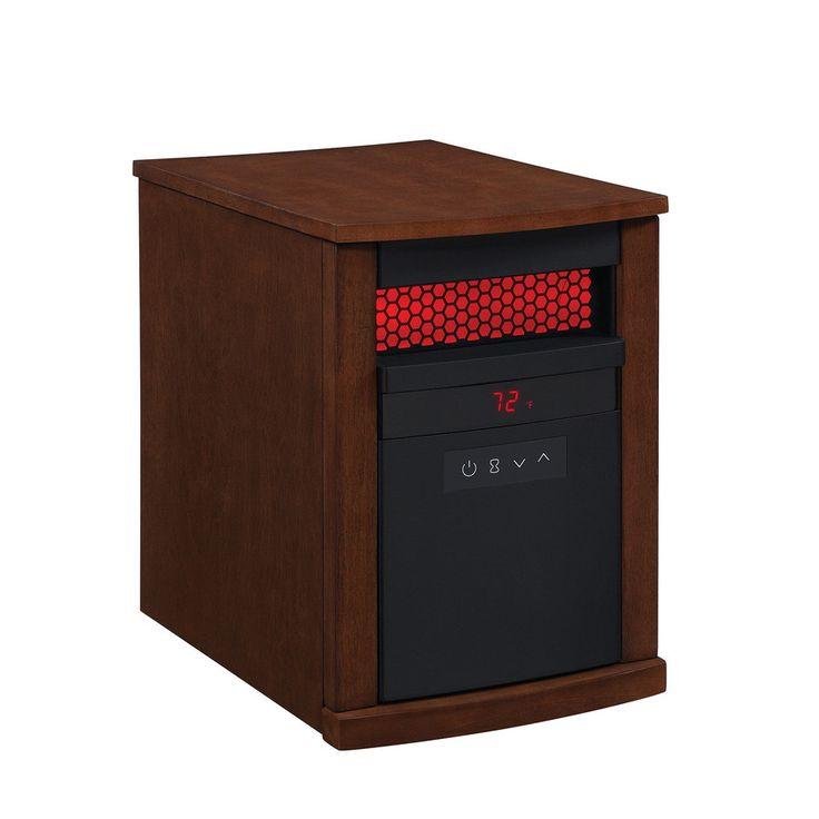 Duraflame 5200-BTU Infrared Quartz Cabinet Electric Space Heater ...