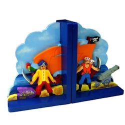 Bookends - Pirate Artiwood