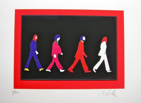 Marco Lodola, Beatles 35x50 cm ($195) @ Deodato Arte