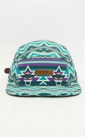 MISHKA, VISION QUEST 5 PANEL HAT - BLUE