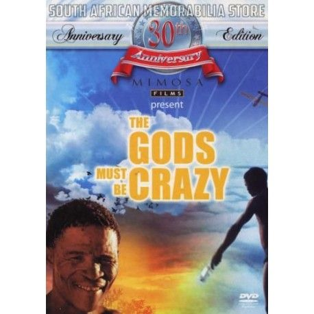 Jamie Uys - Gods Must Be Crazy 1 - Sandra Prinsloo South African Comedy DVD New - South African Memorabilia Store