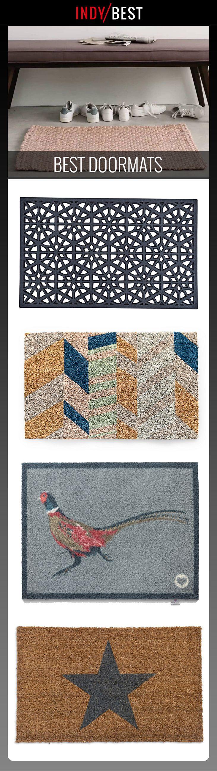 Keep the hallway free from dirt with a hard-wearing doormat: https://ind.pn/2jNXGja