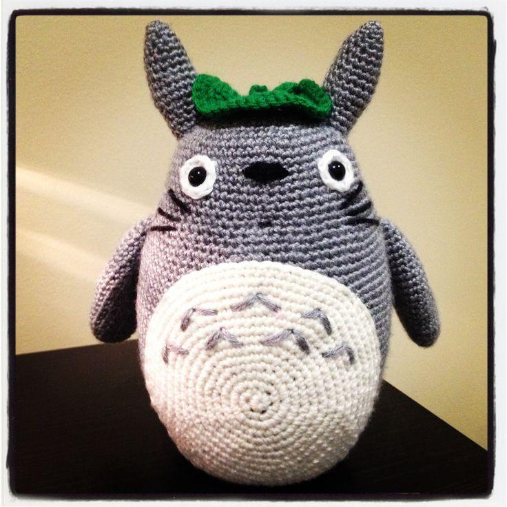 Totoro crochet handmade totoro amigurumi varie for Decoracion del hogar en crochet