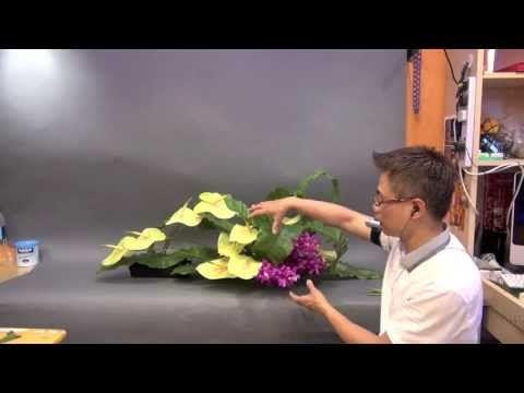 CH-9 主日獻花 Church Flower Arrangement #09 Gordon Lee - YouTube