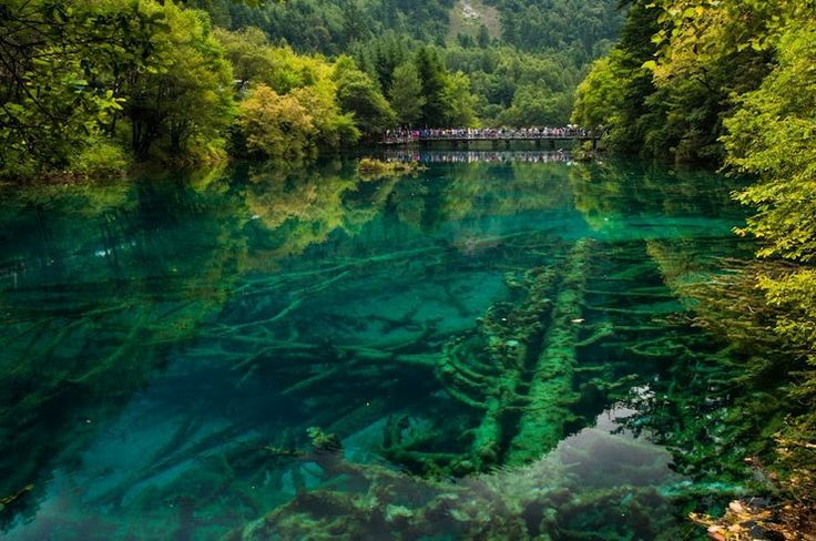 Chiny - parki narodowe Jiuzhaigou i Huanglong - Podróże