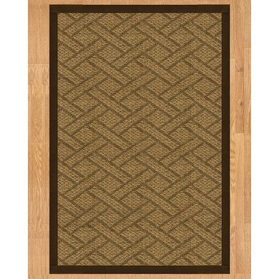 Natural Area Rugs Shanghai Hand Crafted Fudge Area Rug Rug Size: Runner 2u00276
