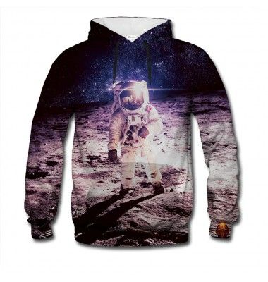 We'd love to paraphrase Neil Armstrong here. Making this jumper was a small step for us, a giant leap for mankind - in the fashion sense. Be the star of the party with the astronaut print. www.bittersweetclth.com
