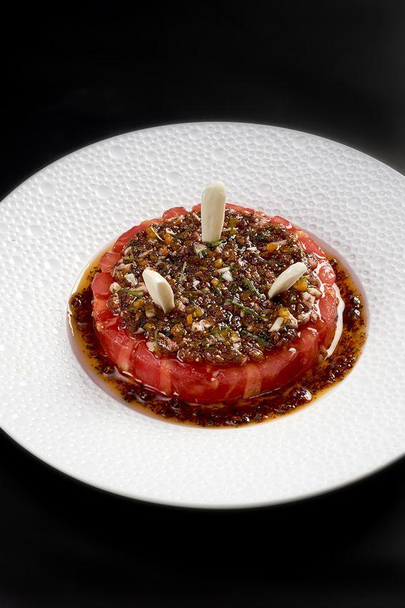 Tomato creation @ Le Cinq