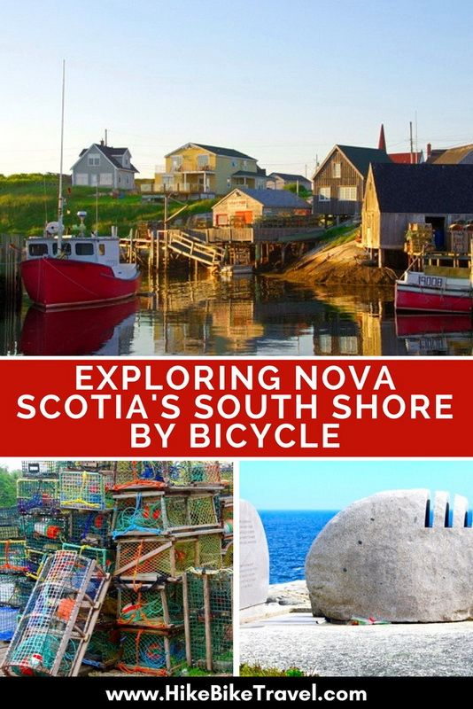 Exploring Nova Scotia's South Shore by Bicycle