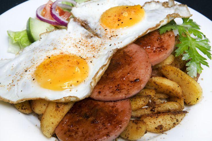 falukorv ägg stekt potatis - Google Search