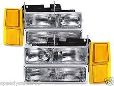 Headlights For 1998 Chevy Silverado