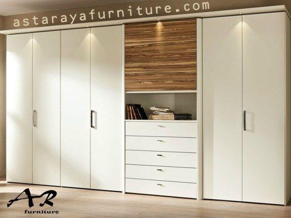 Lemari Pakaian Minimalis Duco Furniture Model Terbaru