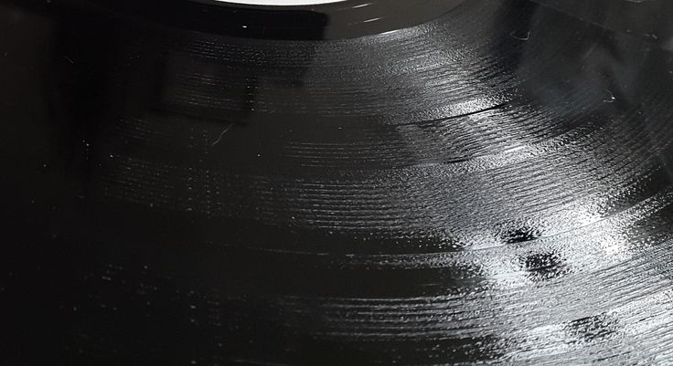 Close up of a vinyl record. #vinyl #record #rock #music