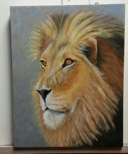 I started painting 4 months ago (July 2014) and this is my first animal. Lynette