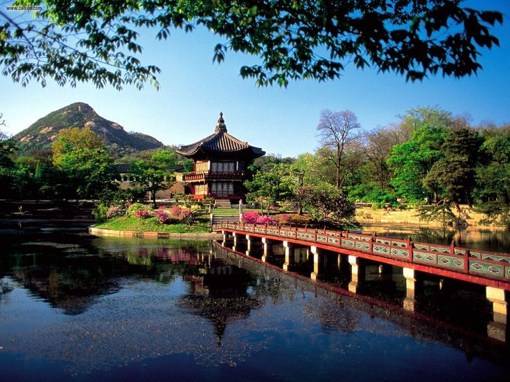 S. Korea - Hyangwonjong Pavilion Lake Seoul. On the list of things to see