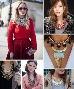 Neckpieces fashion jewelry