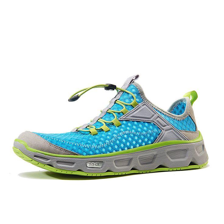 Rax Men Outdoor Summer Hiking Shoes Women Mesh Breathable Ultra-light Trekking Boots Wandelschoenen Dames Size 36-44