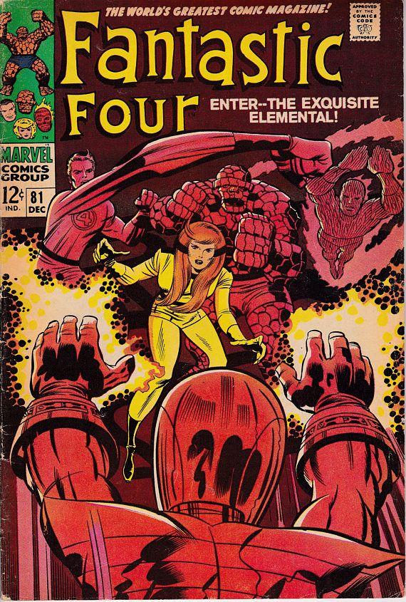 Fantastic Four 81  1961 1st Series December 1968 Marvel