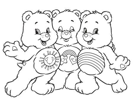 Care Bears 999 Coloring Pages See More Cb