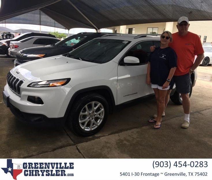 Congratulations Joe And Gail on your #Jeep #Cherokee from Steve Han at Greenville Chrysler Jeep Dodge Ram!  https://deliverymaxx.com/DealerReviews.aspx?DealerCode=J122  #GreenvilleChryslerJeepDodgeRam
