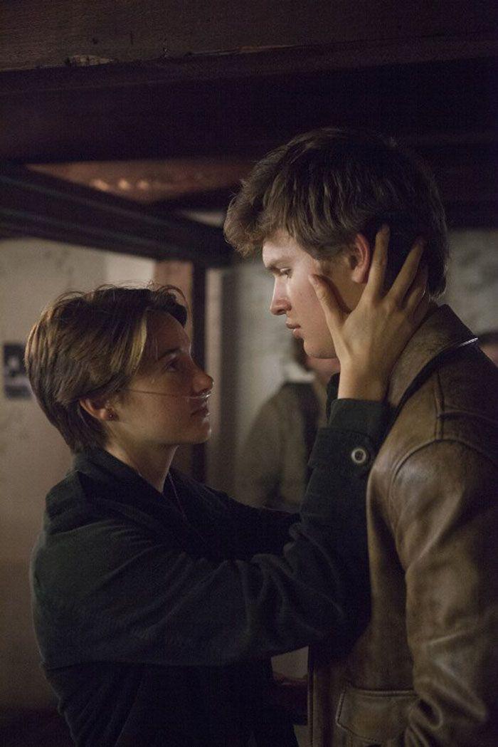 "Shailene Woodley y Ansel Elgort en ""Bajo la misma estrella"" (The Fault in Our Stars), 2014"