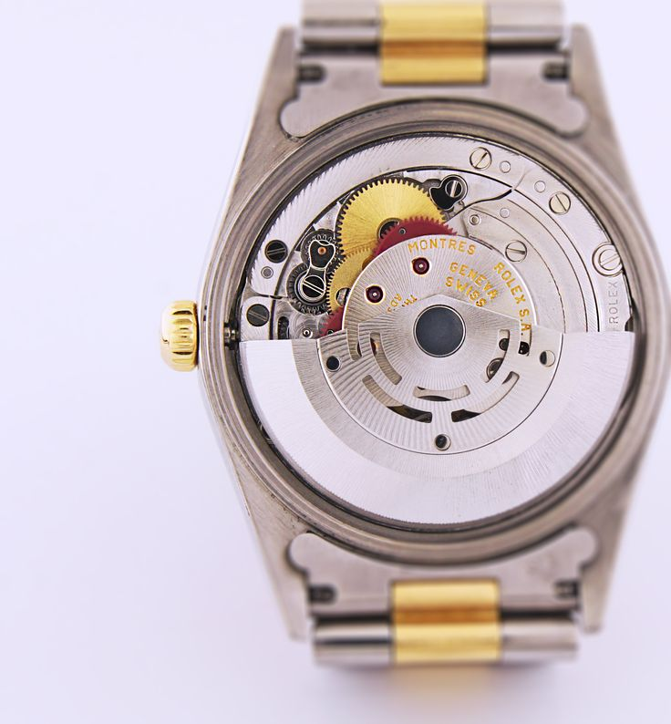 Rolex Oyster Perpetual Date #details #vintage #watch #mechanism automatic movement