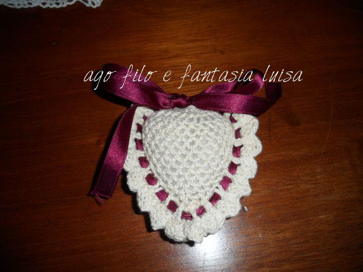 cuore a crochet