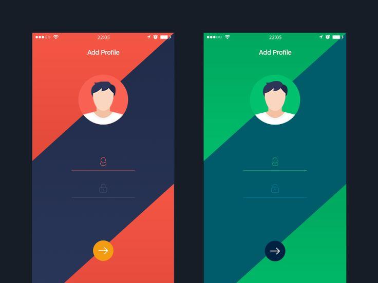 Material App Profile